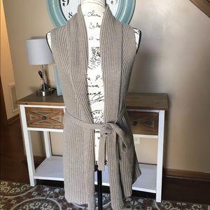 Gap knit tan cardigan